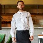 Henry Segal Men's Customizable White Long Sleeve Dress Shirt - S