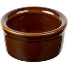 Greenware by Tuxton BAX-025 Caramel 2.5 oz. Smooth Ramekin - 48/Case