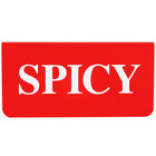 Cawley Red / White Tin Spicy Fryer Label