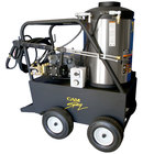 Cam Spray 3000QE Portable Electric Hot Water Pressure Washer with 50' Hose - 3000 PSI; 4.0 GPM