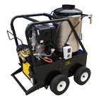 Cam Spray 25006QD Portable Diesel Hot Water Pressure Washer with 50' Hose - 2500 PSI; 3 GPM