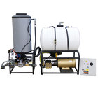Cam Spray 208STATLEF Stationary LP Gas Fired Electric Hot Water Pressure Washer with 50' Hose - 2000 PSI; 8.0 GPM