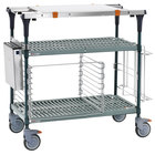 Metro MS1848-PRPR-PK2 PrepMate MultiStation with Accessory Pack and SuperErecta Pro Shelving - 50 inch x 19 3/8 inch x 39 1/8 inch