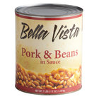 Bella Vista #10 Can Fancy Pork & Beans - 6/Case