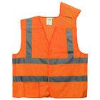 Orange Class 2 High Visibility 5 Point Breakaway Safety Vest - XXXL