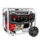 Simpson 70010 Portable 12.5 HP Heavy-Duty 389cc Generator with Honda GX390 Engine and Recoil Start - 8500/7000W, 120V