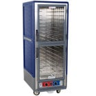 Metro C539-MDC-L-BU C5 3 Series Heated Holding and Proofing Cabinet with Clear Dutch Doors - Blue