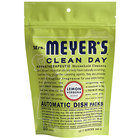 Mrs. Meyer's Clean Day 651357 20-Count Lemon Verbena Dishwasher Pac - 6/Case