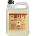 Mrs. Meyer's Clean Day 313536 33 oz. Oat Blossom Scented Hand Soap Refill - 6/Case