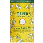 Mrs. Meyer's Clean Day 308117 Honeysuckle Deodorizing Scent Sachet - 18/Case