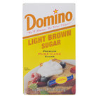 Domino Light Brown Sugar 1 lb. Box - 24/Case