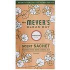 Mrs. Meyer's Clean Day 308118 Geranium Deodorizing Scent Sachet - 18/Case