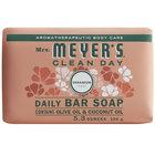 Mrs. Meyer's Clean Day 663371 5.3 oz. Geranium Soap Bar - 12/Case