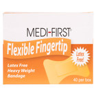 Medique 61578 Medi-First Woven Fingertip Bandage - 40/Box