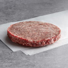 Warrington Farm Meats 5.3 oz. Frozen Ground Chuck, Short Rib, and Brisket Blend Burger Patty - 30/Case