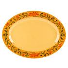 GET OP-621-VN Venetian Oval Platter - 12/Pack