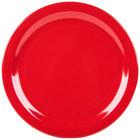 Carlisle 4350005 Dallas Ware 10 1/4 inch Red Melamine Plate - 48/Case