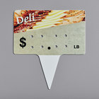 Deli Molded Number Spear Price Tag (lb.) - 25/Pack