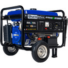 DuroMax XP5500EH Portable 7.5 HP Dual Fuel Powered Generator with Electric / Recoil Start and Wheel Kit - 5,500/4,500W, 120V