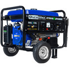DuroMax XP4400EH Portable Dual Fuel Powered Generator with Electric / Recoil Start and Wheel Kit - 4,400/3,500W, 120V