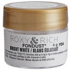 Roxy & Rich 4 Gram Bright White Fondust Hybrid Food Color