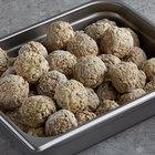 Devault Foods 2 oz. Mrs. DiFillippo's Mild Meatballs - 10 lb.