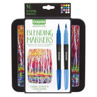 Crayola 586502 Signature 16-Count Assorted Color Blending Markers