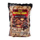 Hickory Wood Chunks 360 Cu. In. Bag - 6/Case
