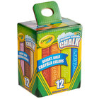 Crayola 512012 4 inch 12 Assorted Color Washable Ultimate Sidewalk Chalk