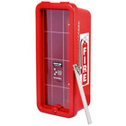 Cato 10551-B Chief Red Surface-Mounted Fire Extinguisher Cabinet with Breaker Bar Attachment for 5 lb. Fire Extinguishers