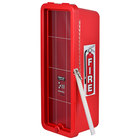 Cato 11051-B Chief Red Surface-Mounted Fire Extinguisher Cabinet with Breaker Bar Attachment for 10 lb. Fire Extinguishers