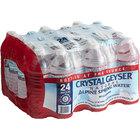 Crystal Geyser 16.9 fl. oz. Natural Spring Water - 24/Case