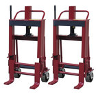 """Wesco Industrial Products 260093 Rais-N-Rol 23"""" x 18 3/4"""" x 41 3/8"""" Machinery Mover with 6"""" Polyurethane Casters - 6000 lb. Capacity"""