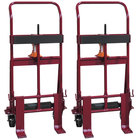 """Wesco Industrial Products 260091 Rais-N-Rol 23"""" x 15 1/2"""" x 48 3/8"""" Machinery Mover with 5"""" Polyurethane Casters - 2,000 lb. Capacity"""