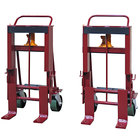 """Wesco Industrial Products 260094 Rais-N-Rol 23"""" x 20 3/4"""" x 41 3/8"""" Machinery Mover with 8"""" Polyurethane Casters - 8000 lb. Capacity"""