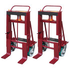 """Wesco Industrial Products 260095 Rais-N-Rol 24"""" x 21 3/4"""" x 47 5/8"""" Machinery Mover with 8"""" Polyurethane Casters - 10,000 lb. Capacity"""