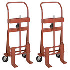 """Wesco Industrial Products 260086 Rais-N-Rol 23"""" x 15 1/2"""" x 48 3/8"""" Machinery Mover with 5"""" Phenolic Casters - 2000 lb. Capacity"""