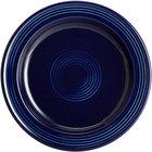 Acopa Capri 7 inch Deep Sea Cobalt China Plate - 24/Case