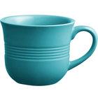 Acopa Capri 8 oz. Caribbean Turquoise China Cup - 36/Case
