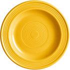 Acopa Capri 6 1/8 inch Mango Orange China Plate - 24/Case