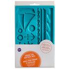 Wilton 409-7726 Nautical Silicone Fondant and Gum Paste Mold