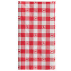 Choice 15 inch x 17 inch Customizable Red Gingham 2-Ply Dinner Napkin - 1000/Case