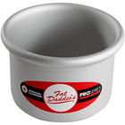 "Fat Daddio's PRD-43 ProSeries 4"" x 3"" Round Anodized Aluminum Mini Straight Sided Cake Pan"