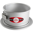 "Fat Daddio's PSF-63 ProSeries 6"" x 3"" Anodized Aluminum Springform Cake Pan"