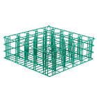36 Compartment Catering Glassware Basket - 2 3/4 inch x 2 3/4 inch x 5 3/4 inch Compartments