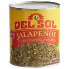 Del Sol #10 Can Diced Green Jalapeno Peppers