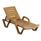 Lancaster Table & Seating Sand Stacking Adjustable Resin Chaise