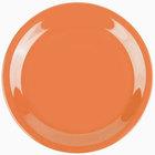 GET NP-6-PK Pumpkin Diamond Harvest 6 1/2 inch Rolled Edge Plate - 48/Case