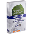 Seventh Generation 44736 Professional Free & Clear 75 oz. Dishwasher Detergent Powder
