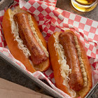 Beyond Meat 3.5 oz. Plant-Based Vegan Original Bratwurst Sausage - 50/Case